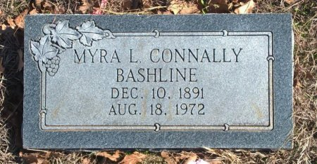 GREGG BASHLINE, MYRA LOUISE - Young County, Texas | MYRA LOUISE GREGG BASHLINE - Texas Gravestone Photos