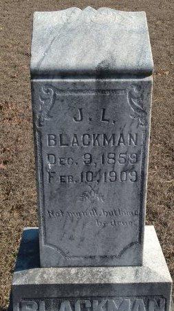 "BLACKMAN, JOHN LAVERT ""J L"" - Young County, Texas | JOHN LAVERT ""J L"" BLACKMAN - Texas Gravestone Photos"