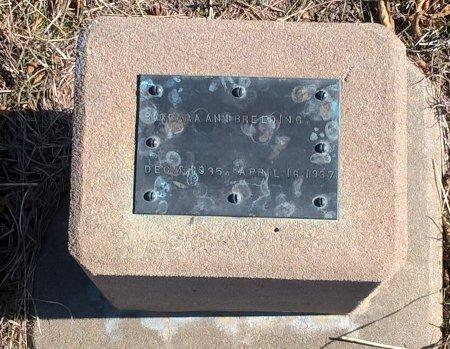 BREEDING, BARBARA ANN - Young County, Texas   BARBARA ANN BREEDING - Texas Gravestone Photos
