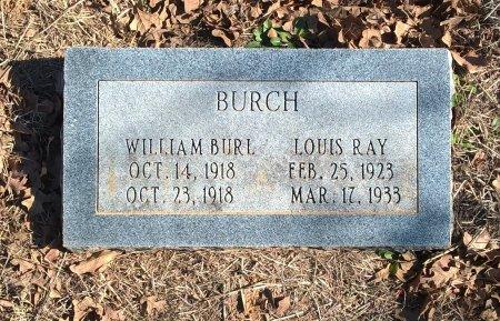 BURCH, WILLIAM BURL - Young County, Texas | WILLIAM BURL BURCH - Texas Gravestone Photos