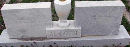 BURKETT, ALBERT JASPER - Young County, Texas | ALBERT JASPER BURKETT - Texas Gravestone Photos