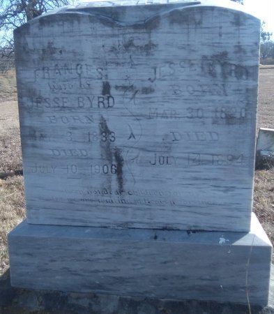 BYRD, JESSE W - Young County, Texas | JESSE W BYRD - Texas Gravestone Photos