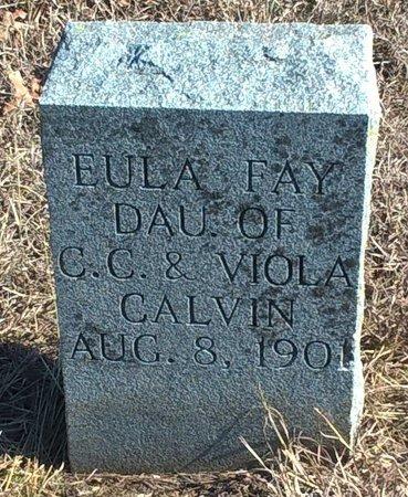 CALVIN, EULA FAY - Young County, Texas   EULA FAY CALVIN - Texas Gravestone Photos