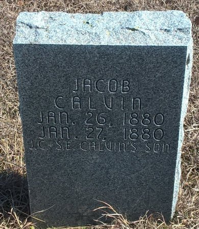 CALVIN, JACOB - Young County, Texas | JACOB CALVIN - Texas Gravestone Photos