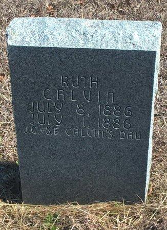 CALVIN, RUTH - Young County, Texas   RUTH CALVIN - Texas Gravestone Photos