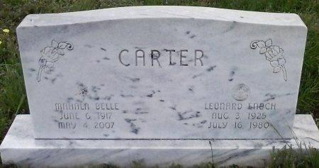 CARTER, MAHALA BELLE - Young County, Texas | MAHALA BELLE CARTER - Texas Gravestone Photos
