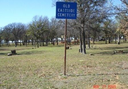 *CEMETERY SIGN,  - Young County, Texas |  *CEMETERY SIGN - Texas Gravestone Photos