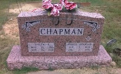 CHAPMAN, EVELYN B - Young County, Texas | EVELYN B CHAPMAN - Texas Gravestone Photos