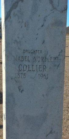 NORFLEET COLLIER, E MABEL - Young County, Texas | E MABEL NORFLEET COLLIER - Texas Gravestone Photos
