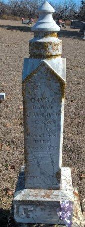 COX, CORA CORDELIA - Young County, Texas | CORA CORDELIA COX - Texas Gravestone Photos