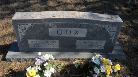 CULLERS COX, HAZEL - Young County, Texas | HAZEL CULLERS COX - Texas Gravestone Photos