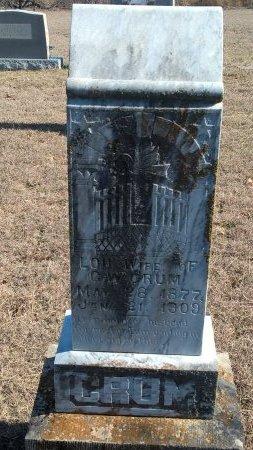 CRUM, LOU - Young County, Texas | LOU CRUM - Texas Gravestone Photos