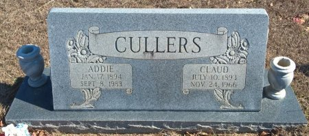 CULLERS, ADDIE - Young County, Texas | ADDIE CULLERS - Texas Gravestone Photos