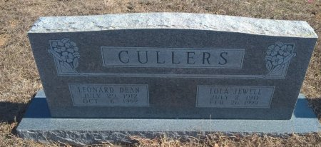 CULLERS, LOLA JEWEL - Young County, Texas | LOLA JEWEL CULLERS - Texas Gravestone Photos