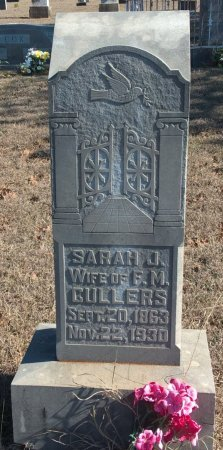 DEAN CULLERS, SARAH JANE - Young County, Texas | SARAH JANE DEAN CULLERS - Texas Gravestone Photos