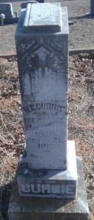 CURRIE, NANCY ELLEN - Young County, Texas | NANCY ELLEN CURRIE - Texas Gravestone Photos