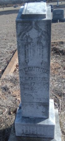 CURRIE (VETERAN CSA), ROBERT EMMETT - Young County, Texas | ROBERT EMMETT CURRIE (VETERAN CSA) - Texas Gravestone Photos