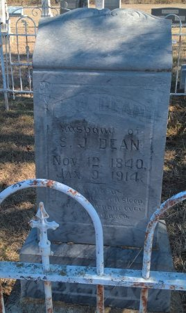 DEAN (NEW), JAMES WILLIAM (CSA VET) - Young County, Texas | JAMES WILLIAM (CSA VET) DEAN (NEW) - Texas Gravestone Photos