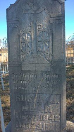 DEAN, SUSAN J - Young County, Texas | SUSAN J DEAN - Texas Gravestone Photos