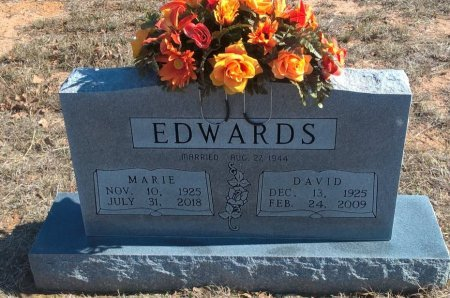 EDWARDS, DAVID CLIFFORD - Young County, Texas | DAVID CLIFFORD EDWARDS - Texas Gravestone Photos