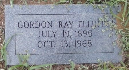 ELLIOT, GORDON RAY - Young County, Texas | GORDON RAY ELLIOT - Texas Gravestone Photos