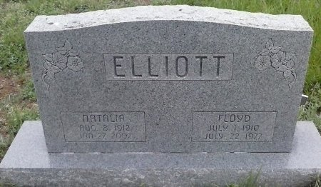 THIGPEN ELLIOT, NATALIA - Young County, Texas | NATALIA THIGPEN ELLIOT - Texas Gravestone Photos
