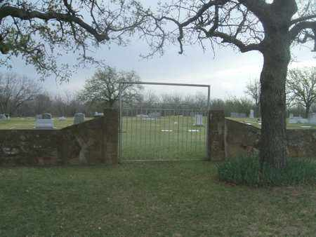 *ENTRANCE AND OVERVIEW,  - Young County, Texas    *ENTRANCE AND OVERVIEW - Texas Gravestone Photos