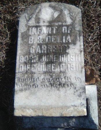 GARRET, INFANT - Young County, Texas   INFANT GARRET - Texas Gravestone Photos