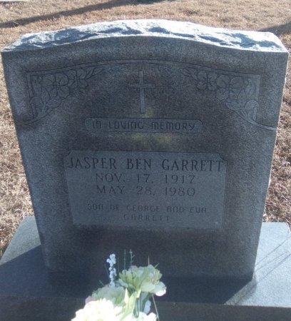 GARRETT, JASPER BEN - Young County, Texas   JASPER BEN GARRETT - Texas Gravestone Photos