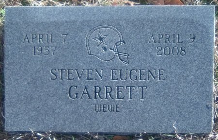 "GARRETT, STEVEN EUGENE 'WEVIE"" - Young County, Texas 