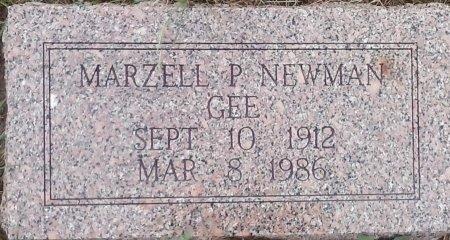 GEE, MARZELL NEWMAN - Young County, Texas | MARZELL NEWMAN GEE - Texas Gravestone Photos
