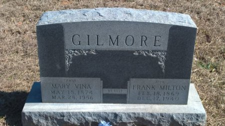 "GILMORE, MARY  MELVINA ""VINA"" - Young County, Texas 