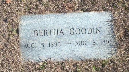 GOODIN, BERTHA - Young County, Texas | BERTHA GOODIN - Texas Gravestone Photos