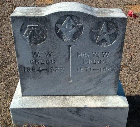 "LUCAS GREGG, FRANCES R ""FANNIE"" - Young County, Texas | FRANCES R ""FANNIE"" LUCAS GREGG - Texas Gravestone Photos"