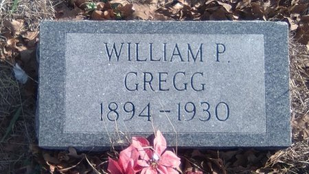 GREGG SR., WILLIAM PIERCE - Young County, Texas | WILLIAM PIERCE GREGG SR. - Texas Gravestone Photos