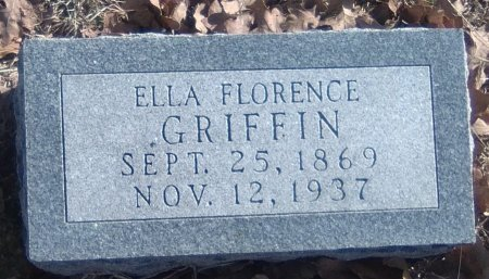 HYATT GRIFFIN, ELLA FLORENCE - Young County, Texas | ELLA FLORENCE HYATT GRIFFIN - Texas Gravestone Photos