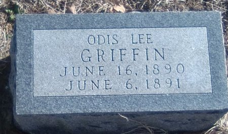 GRIFFIN, ODIS LEE - Young County, Texas   ODIS LEE GRIFFIN - Texas Gravestone Photos