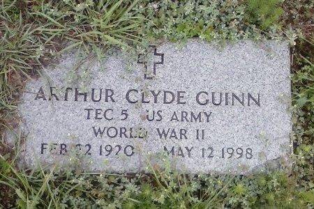 GUIN (VETERAN WWII), ARTHUR CLYDE - Young County, Texas | ARTHUR CLYDE GUIN (VETERAN WWII) - Texas Gravestone Photos