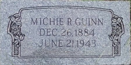 YORK *GUIN, MICHIE R - Young County, Texas | MICHIE R YORK *GUIN - Texas Gravestone Photos