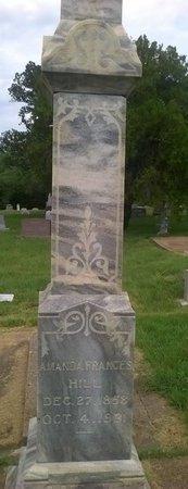 GOODALL HILL, AMANDA FRANCES - Young County, Texas | AMANDA FRANCES GOODALL HILL - Texas Gravestone Photos