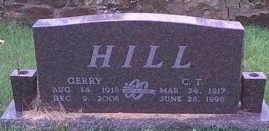"GRANTHAM HILL, GERALDINE ""GERRY"" - Young County, Texas 