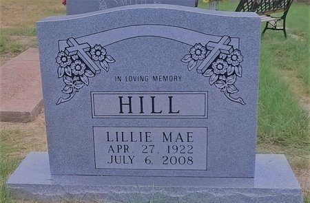WELDON  HILL, LILLIE MAE - Young County, Texas | LILLIE MAE WELDON  HILL - Texas Gravestone Photos