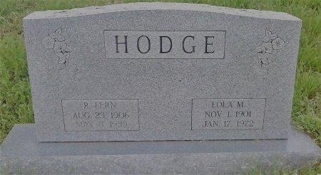 HODGE, LOLA M - Young County, Texas | LOLA M HODGE - Texas Gravestone Photos