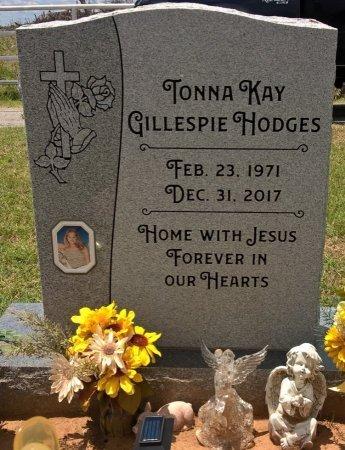 GILLESPIE HODGES, TONNA KAYE - Young County, Texas | TONNA KAYE GILLESPIE HODGES - Texas Gravestone Photos
