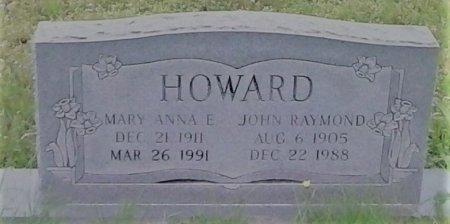 REED HOWARD, MARY ANNA E - Young County, Texas | MARY ANNA E REED HOWARD - Texas Gravestone Photos
