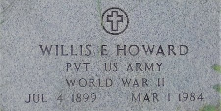 HOWARD (VETERAN WWII), WILLIS E  - Young County, Texas | WILLIS E  HOWARD (VETERAN WWII) - Texas Gravestone Photos
