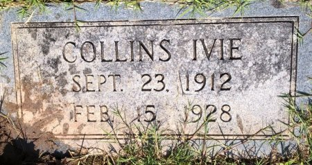 IVIE, COLLINS - Young County, Texas | COLLINS IVIE - Texas Gravestone Photos