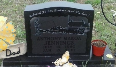 JENNINGS, ANTHONY MAKOA - Young County, Texas   ANTHONY MAKOA JENNINGS - Texas Gravestone Photos