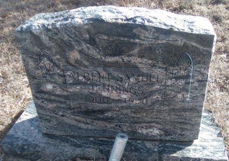 JENNINGS, ALBERT SAMUEL 'SAM' - Young County, Texas | ALBERT SAMUEL 'SAM' JENNINGS - Texas Gravestone Photos