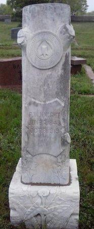 KNIGHT, F W - Young County, Texas | F W KNIGHT - Texas Gravestone Photos